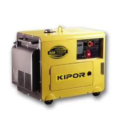 موتور برق دیزلی کیپور 5.5 کیلو وات مدل KDE7000T3