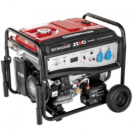 موتور برق بنزینی سنسی مدل SC5000E