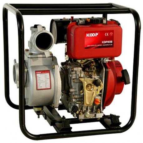 پمپ آب دیزلی کوپ مدل KDP80B/L/LE