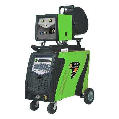دستگاه جوش اینورترمیگ و الکترود دیجیتال 315 آمپر ایران ترانس مدل (IGBT/WATERCOOL) MIG 401 DPI