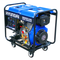 موتور برق 5.5 کیلووات دیزلی هیوندای مدل HG6553-DG
