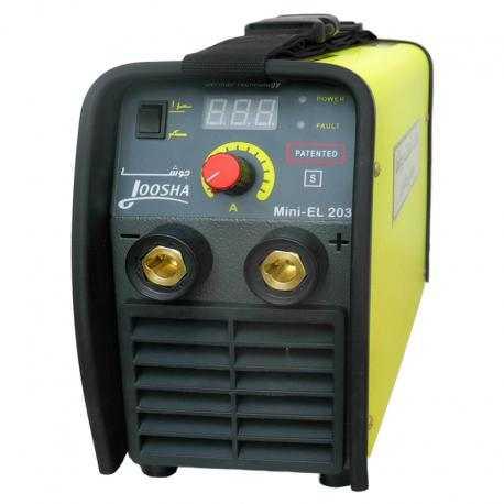 اینورتر 200 آمپر دیجیتالی گام الکتریک جوشا مدل Mini-EL 203