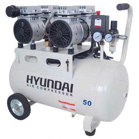 کمپرسور باد 50 لیتری بی صدا (SILENT) هیوندای مدل AC-1550