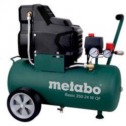 کمپرسور باد متابو 24 لیتری مدل BASIC 250 - 24 W