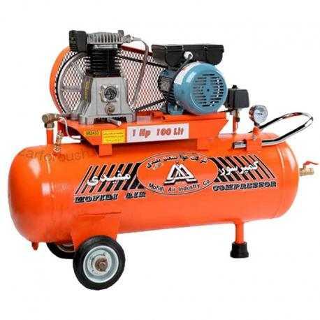 کمپرسور هوا 100 لیتری با مخزن 75 لیتر مفیدی مدل CMI 100-75-H