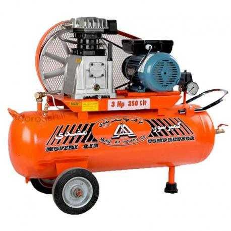 کمپرسور 350 لیتری با مخزن 75 لیتر مفیدی مدل CMI 350-75-H