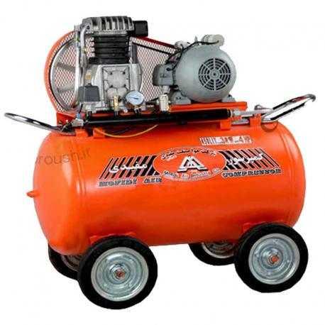 کمپرسور 450 لیتری با مخزن 250 لیتر مفیدی مدل CMI 450-250-H