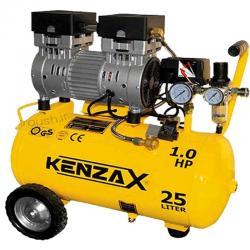کمپرسور باد کنزاکس 25 لیتری بی صدا (سایلنت) مدل KACS-125