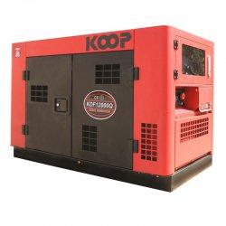 موتور برق دیزلی کم صدا کوپ 11 کیلو وات مدل KDF12000Q