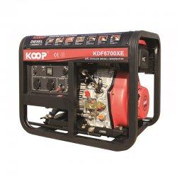 موتور برق دیزلی کوپ 5 کاوا مدل KDF6700X/XE