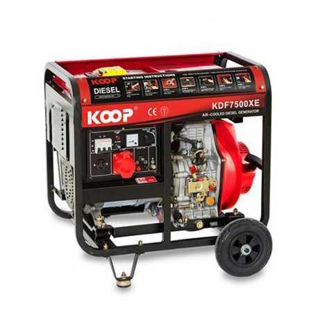 موتور برق دیزلی کوپ مدل KDF7500X/XE