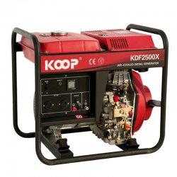 موتور برق دیزلی کوپ 2/5 کاوا مدل KDF2500X/XE