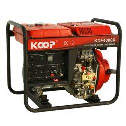 موتور برق دیزلی کوپ مدل KDF4000X/XE