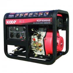 موتور برق دیزلی کوپ 6 کاوا مدل KDF8500XE
