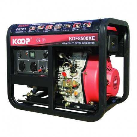 موتور برق دیزلی کوپ مدل KDF8500X/XE