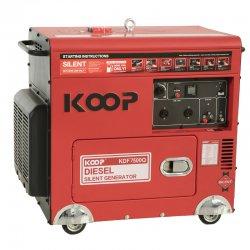 موتور برق دیزلی کم صدا کوپ 6/5 کاوا مدل KDF7500Q