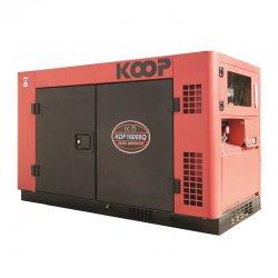 موتور برق دیزلی کم صدا کوپ مدل KDF16000Q