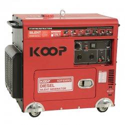 موتور برق دیزلی کم صدا کوپ 6 کاوا مدل KDF8500Q-3D