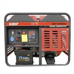 موتور برق دیزلی کوپ 12 کاوا مدل KDF16000XE