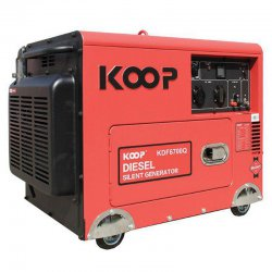 موتور برق دیزلی کم صدا کوپ مدل KDF6700Q3