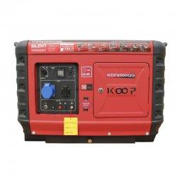 موتور برق دیزلی سوپر سایلنت کوپ 5.5 کاوا مدل KDF8500QQ
