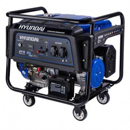 موتور برق بنزینی 7.5 کیلو وات هیوندای مدل HG7525