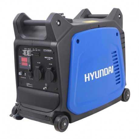 موتور برق 3.2 کیلو وات هیوندای مدل HG1230-IG