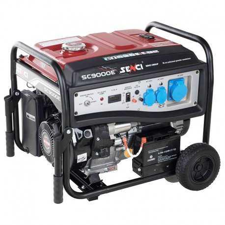 موتور برق بنزینی سنسی مدل SC9000E