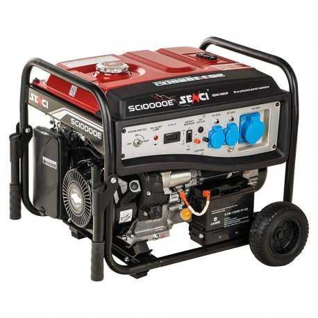 موتور برق بنزینی سنسی مدل SC10000E