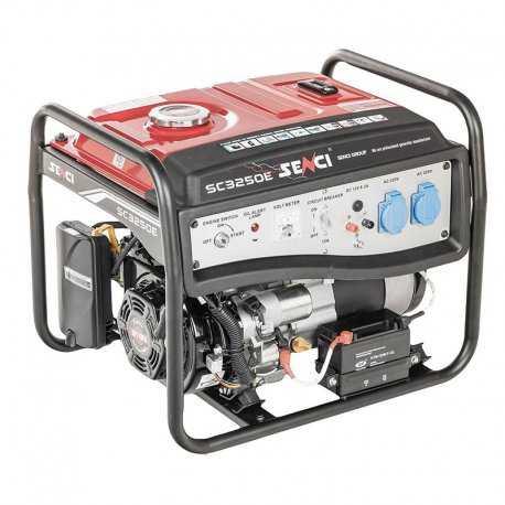 موتور برق بنزینی سنسی مدل SC3250E