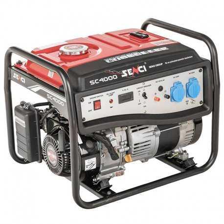 موتور برق بنزینی سنسی مدل SC4000M