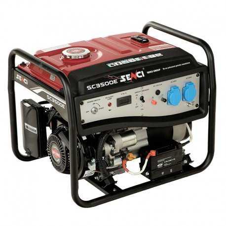 موتور برق بنزینی سنسی مدل SC3500E