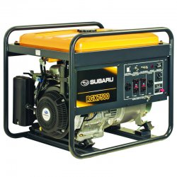 موتور برق بنزینی روبین 7.5 کاوا مدل RGX7500E