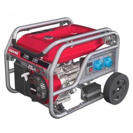 موتور برق 7800 وات بنزینی بلک مکس مدل BMGN7800