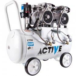 کمپرسور هوای 50 لیتری سایلنت (بی صدا) اکتیو مدل AC1350S