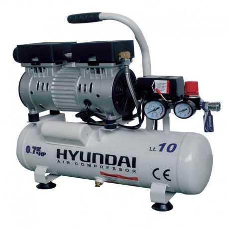 کمپرسور باد 10 لیتری بی صدا (سایلنت) هیوندای مدل AC-1075