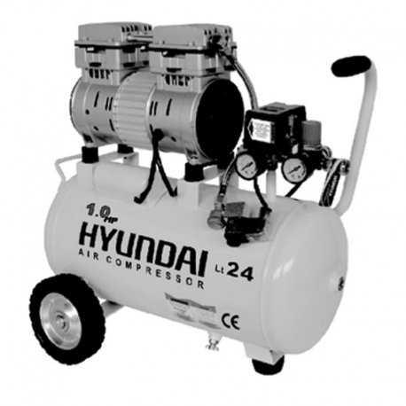 کمپرسور باد 25 لیتری بی صدا (SILENT) هیوندای مدل AC-1024