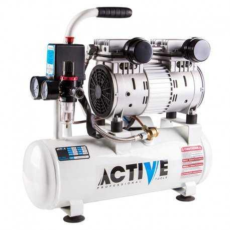 کمپرسور باد 10 لیتری سایلنت (بی صدا) اکتیو مدل AC1310S