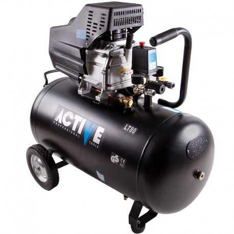 کمپرسور باد 80 لیتری اکتیو مدل AC1080
