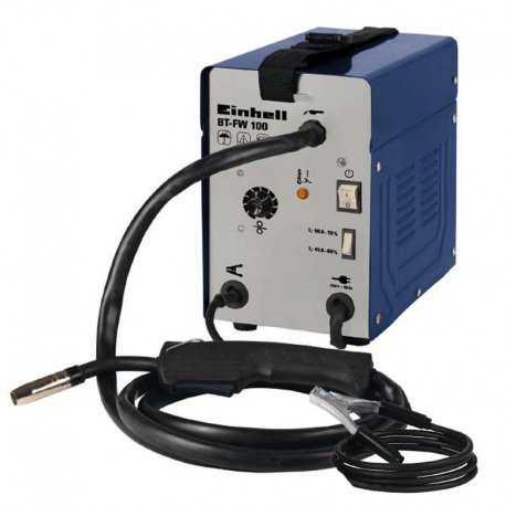 دستگاه جوشکاری MIG/MAG بدون نیاز به کپسول گاز محافظ آینهل مدل BT-FW 100