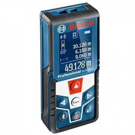 متر لیزری 50 متری بلوتوث دار بوش مدل GLM50C