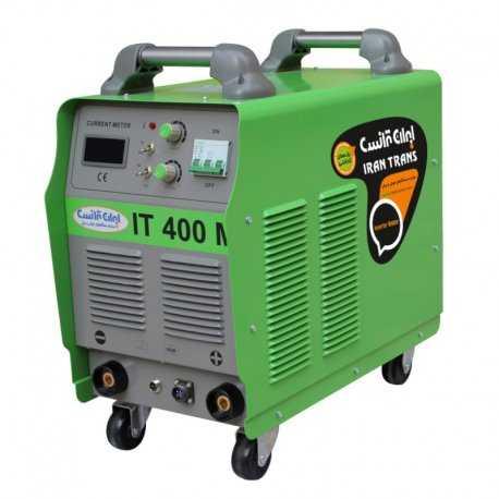 دستگاه جوش اینورتر الکترود 400 آمپر ایران ترانس مدل IT 400 P