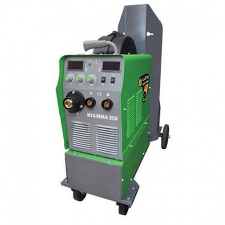 دستگاه جوش اینورتر میگ مگ و الکترود 200 آمپر ایران ترانس مدل MIG 200 IGBT