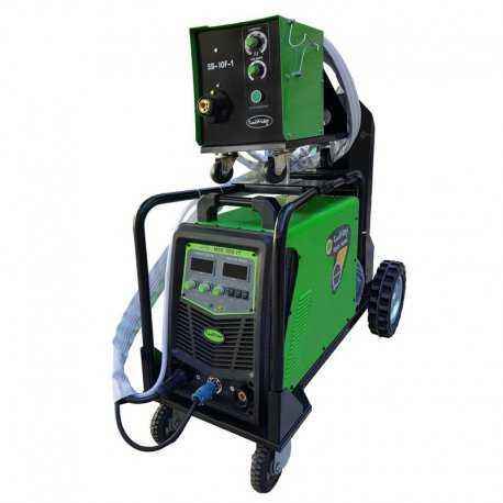 دستگاه جوش اینورتر میگ مگ و الکترود 500 آمپر ایران ترانس مدل MIG 500 IT