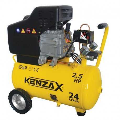 کمپرسور باد 24 لیتری کنزاکس مدل KAC-124
