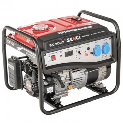 موتور برق بنزینی سنسی 4 کیلو وات مدل SC4000E