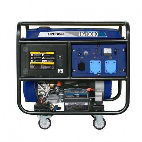 موتور برق 10 کیلووات هیوندای مدل HG10000