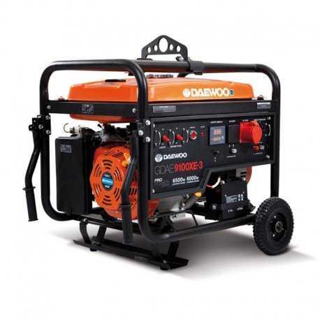 موتور برق بنزینی 6.5 کیلووات 3 فاز استارتی دوو مدل GDA9100XE-3