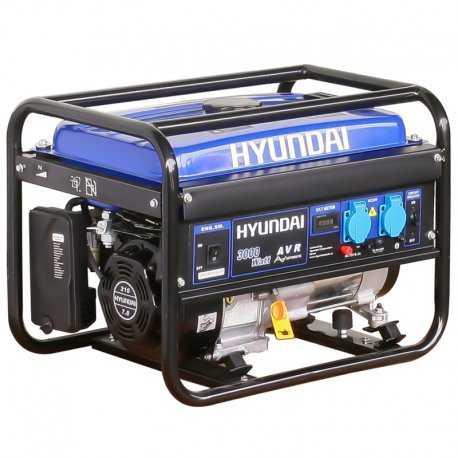 موتور برق 3 کیلو وات هیوندای مدل HG5360-PG