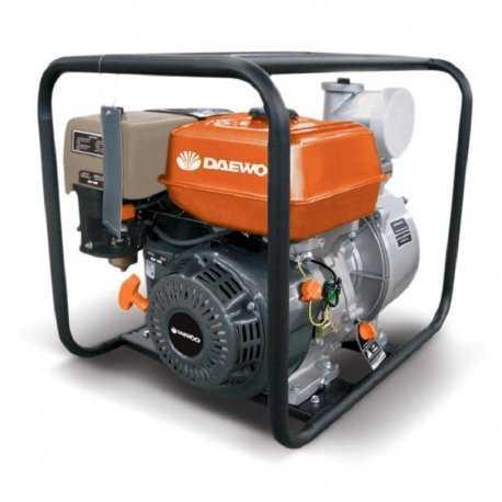 موتور پمپ آب 4 اینچ بنزینی دوو GAE100